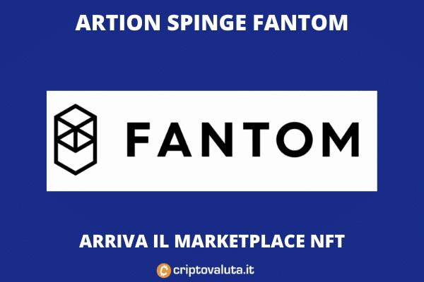 Fantom - arriva Artion e vola sul mercato
