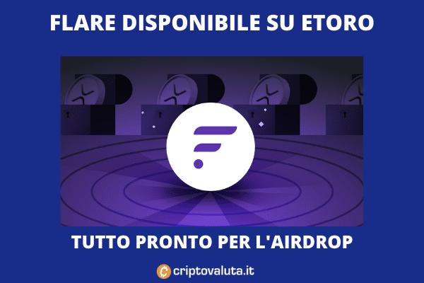 Airdrop eToro FLARE - analisi di Criptovaluta.it