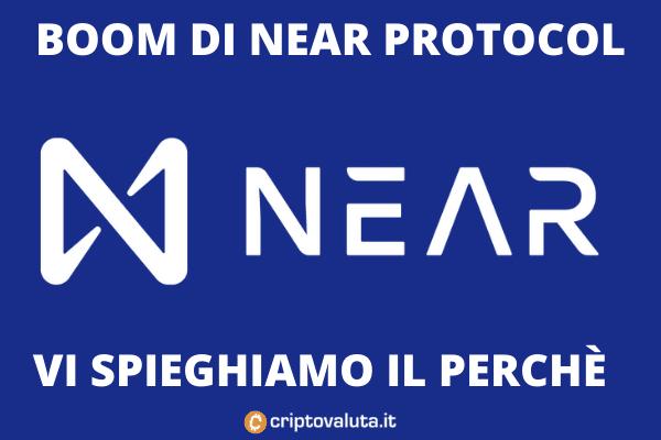 Near protocol boom - l'analisi di Criptovaluta.it