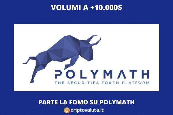Polymath - speculazione di breve - a cura di Criptovaluta.it