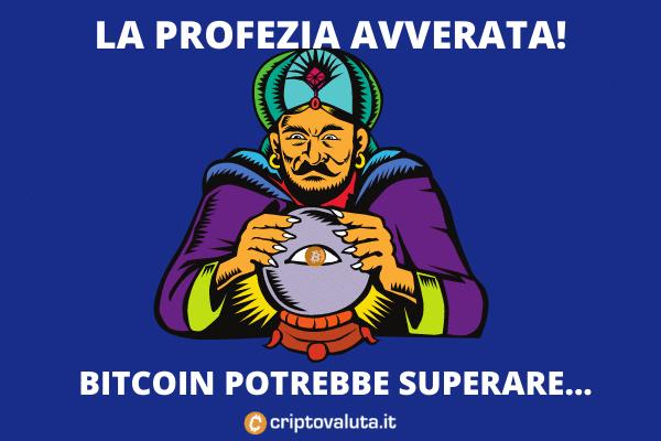 La profezia su Bitcoin a 135k - analisi di criptovaluta.it