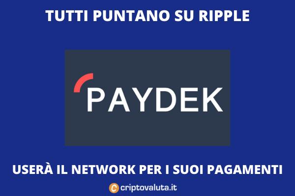 Paydek e Ripple - analisi dell'accordo di Criptovaluta.it