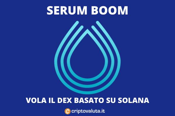 Ottimo Serum - ecco perché cresce - l'analisi di Criptovaluta.it