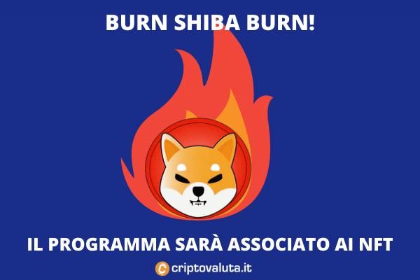 Burn Shib - l'analisi con NFT di Criptovaluta.it