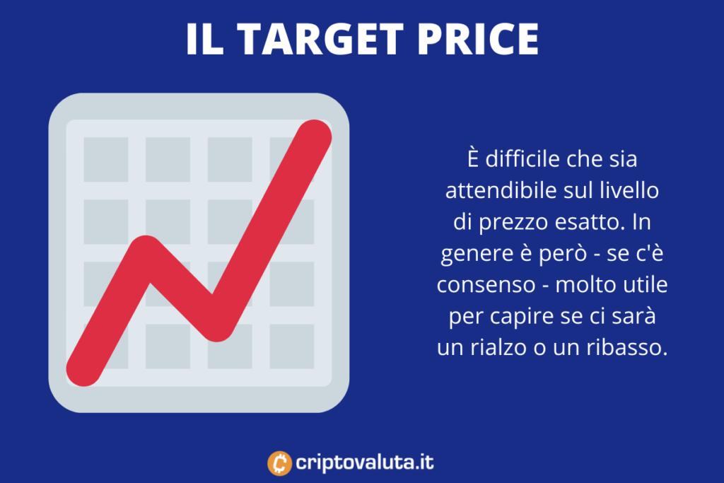 Capire come funzionano i target price - di Criptovaluta.it