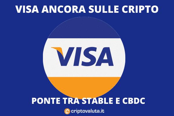 Visa UPC - come funziona il ponte tra cripto e CBDC