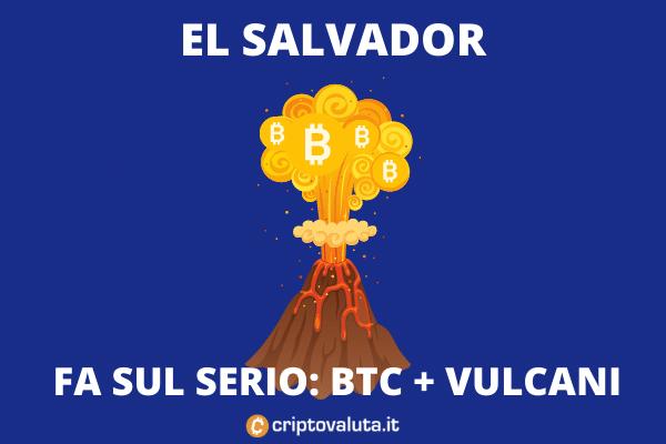 Mining a El Salvador - si parte con i vulcani - analisi di Criptovaluta.it