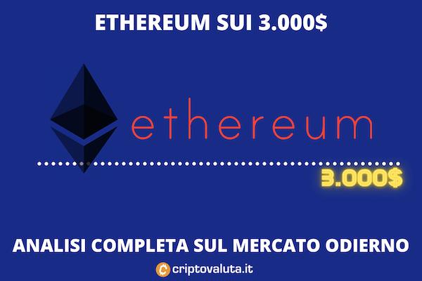 Ethereum - analisi 21 settembre - di Criptovaluta.it