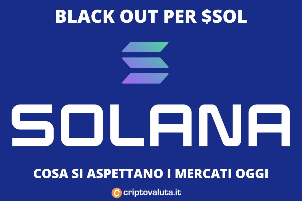 Solana BlackOut - analisi di Criptovaluta.it