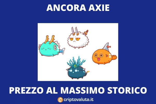AXie infinity - boom 50% sul mercato - di Criptovaluta.it