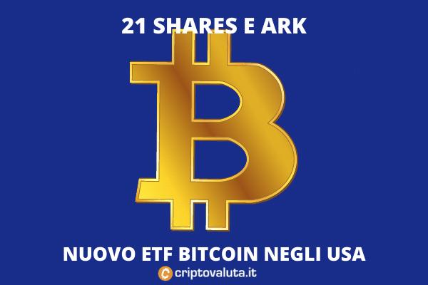 Bitcoin Shares 21 - ETF con ARK