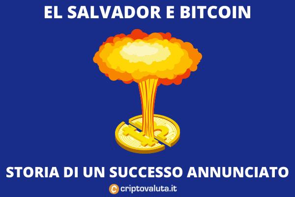 El Salvador e Bitcoin - ecco come vanno le cose