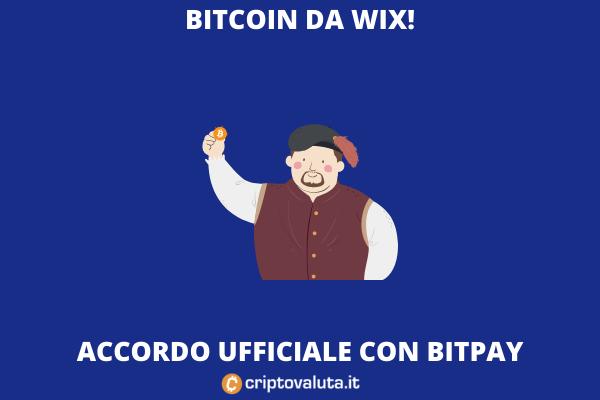 WIX BItcoin - analisi di Criptovaluta.it