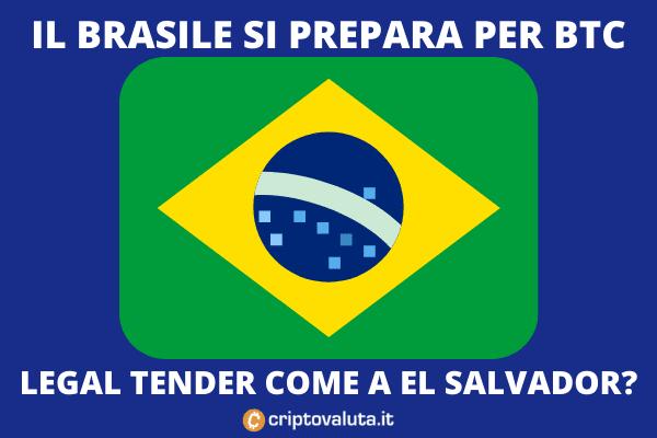 Bitcoin in Brazile - la proposta del deputato