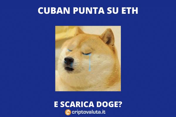 Mark Cuban - Dogecoin peggiore di Ethereum