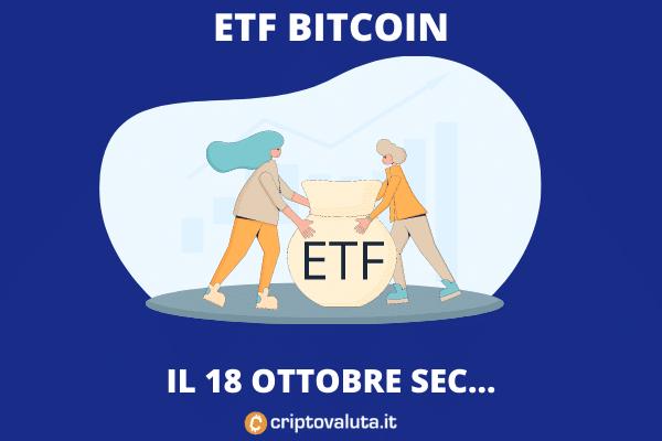 ETF Bitcoin negli USA - come, quando e perché