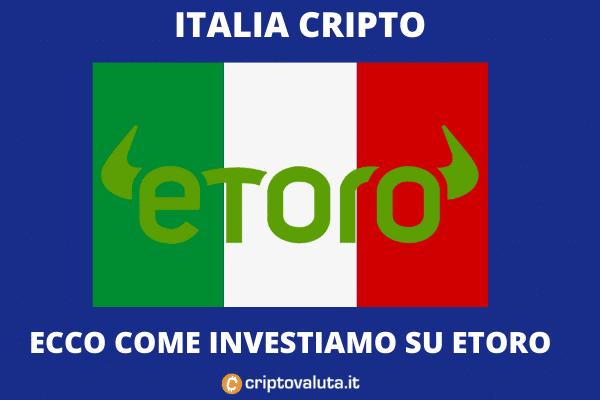 eToro - come investono gli italiani