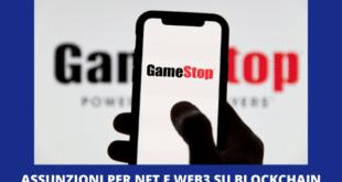 Gamestop blockchain NFT