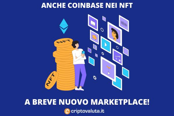 NFT COINBASE - arriva il marketplace