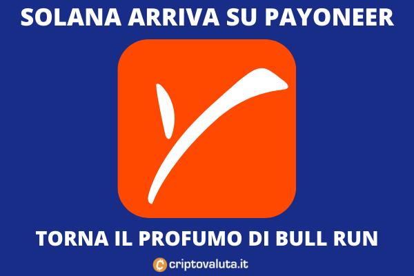 Solana arriva su Payoneer - di Criptovaluta.it