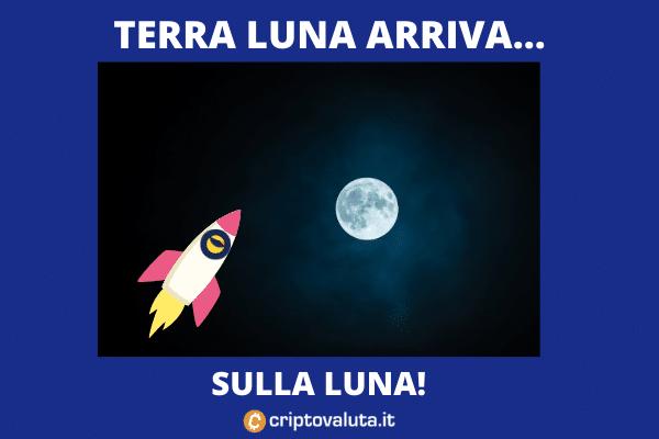 La corsa di Terra Luna - analisi di Criptovaluta.it