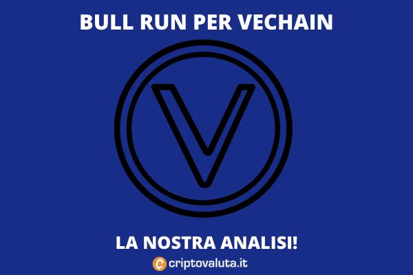 VeChain recupero verso i massimi - l'analisi di Criptovaluta.it
