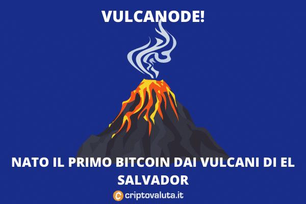 El Salvador - vulcano Bitcoin - ecco com'è andata