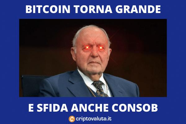 Paolo Savona contro Bitcoin - ecco perché si sbaglia