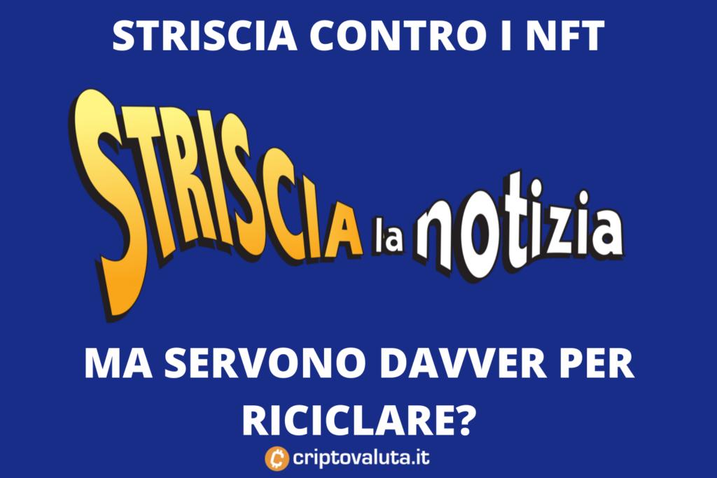 Riciclaggio Striscia su Criptovalute - analisi di Criptovaluta.it
